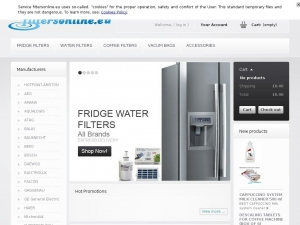 Get any  water filter for your fridge with FiltersOnline